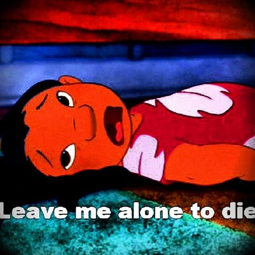 How I feel taking the staar today ugh I had one yesterday and now today and tomarrow I have a dual credit collage acceptance test and english paper due thursday and friday through sunday a awesome and a amazing show that makes it worth while to go through all this but that's life right ? no correction theatres my life and nothings going to change that Lilred Staar Busy weekAlotonmyplate lilo&stitchschoolnever-endingtests