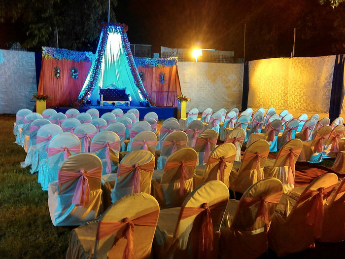 Wedding Wedding Photography Weddings Around The World Night Photography Night View Chairs No People? Stage Weddingdecoration Wedding Party Enjoying The View Enjoying The Wedding Curtains Wedding At Night Nikon_photography EyeEm Gallery Eyeem Photography Flowers At Wedding Wedding Flowers Chairs Marriage  Marriage Ceremony Marriage Photography Wedding Light Marraige