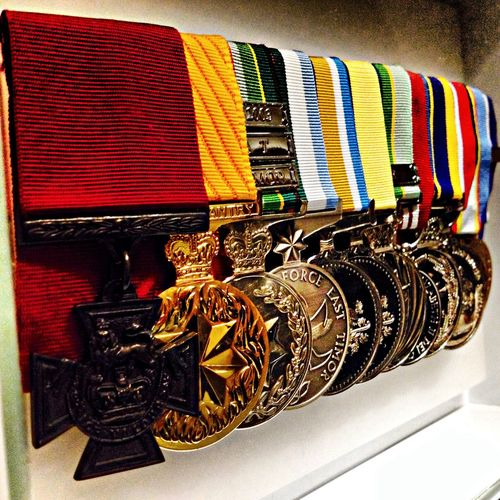 Fmsphotoaday 2013   09.29   Gold   Ben Roberts-Smith's medals   #fmsphotoaday #nofilter #ANZAC #bravery #VC #iphoneography #iphoneonly #igerssydney  