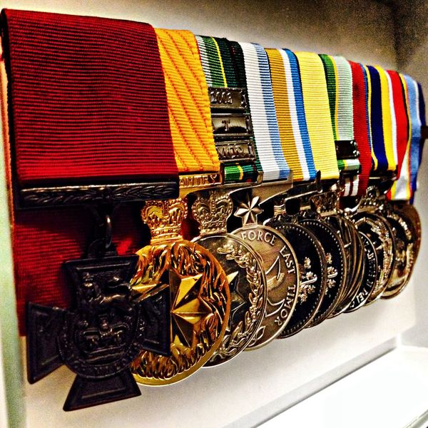Fmsphotoaday 2013 | 09.29 | Gold | Ben Roberts-Smith's medals | #fmsphotoaday #nofilter #ANZAC #bravery #VC #iphoneography #iphoneonly #igerssydney |