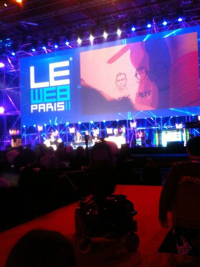 Hanging out at LeWeb Hanging Out
