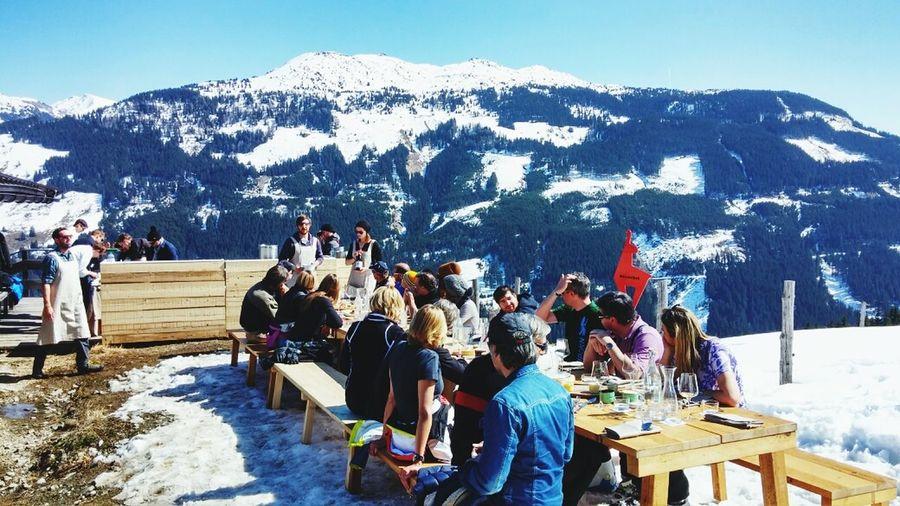 5 Gänge deluxe beim Alpine Ingredients! Danke Best Of The Alps, danke Kitzbühel, danke ans Wetter!