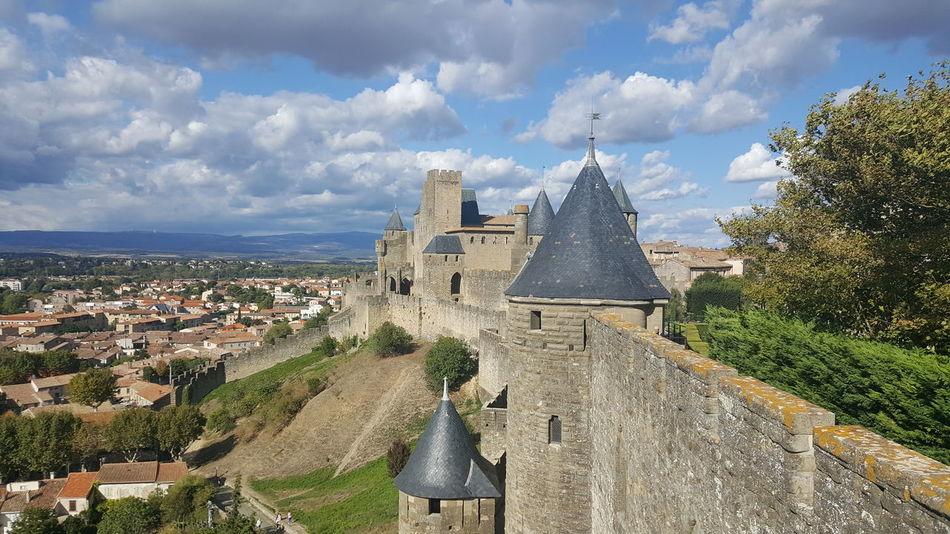 Carcassonne Carcassone, France Architecture Religion History Ancient Travel Destinations No People Cloud - Sky Day Spirituality Outdoors Sky Landscape Building Exterior Cityscape Ancient Civilization City