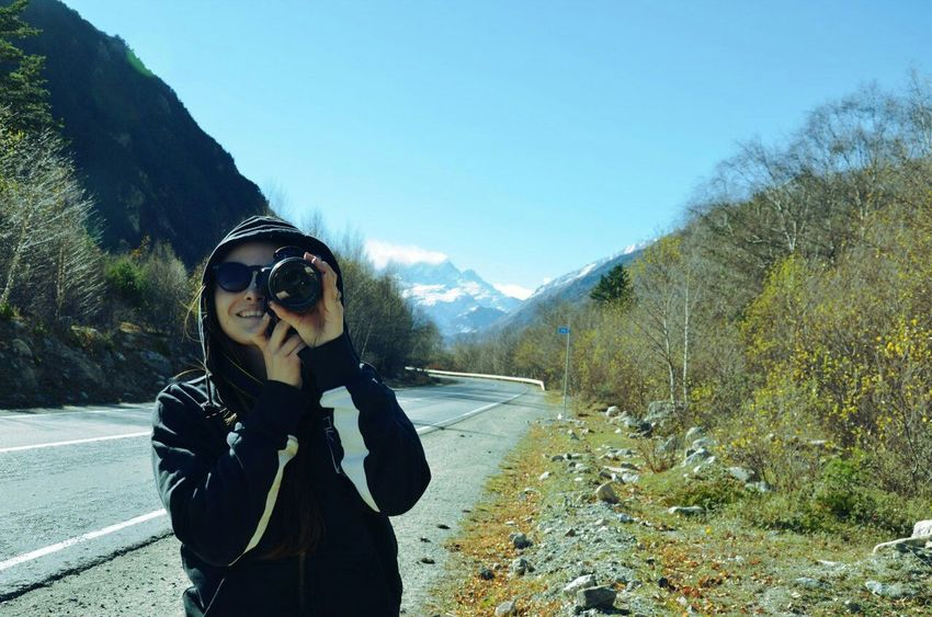 Vacation was great! Relaxing Hi! That's Me Enjoying Life Hello World Fotografer Cheese! Mountain Russia Mountains Road Selfie