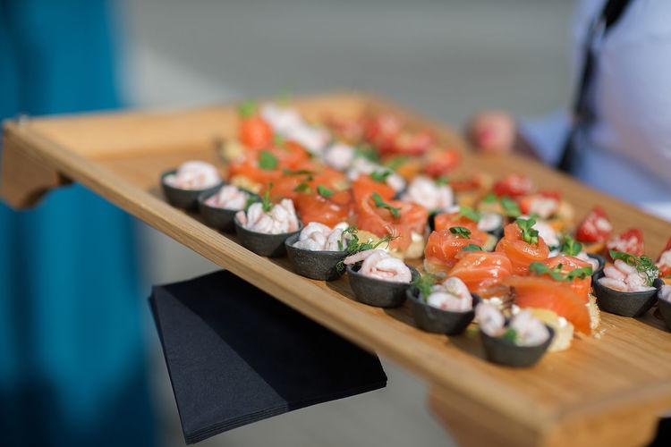Hands Shrimp Shrimps Snacks Time Asian Food Celebration Food Food Food And Drink Healthy Eating Japanese Food Preparation  Ready-to-eat Salmon Salver Sea Food Seafood Snacks