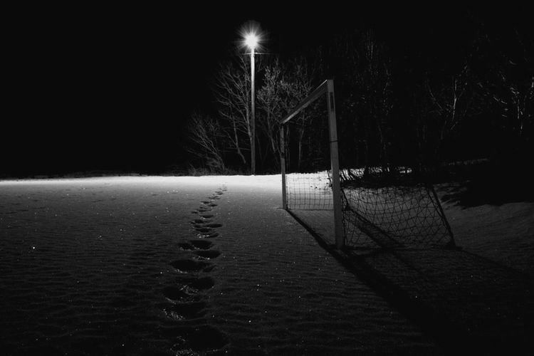 Night Tree Cold Temperature No People Winter Sky Outdoors Nature Beauty In Nature Star - Space Soccer Football Calcio