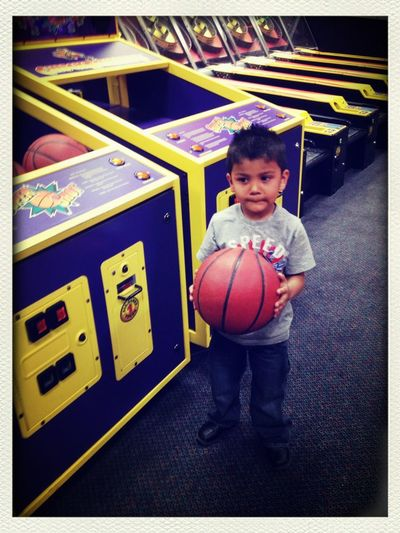 No Work Took This Kid To Chucky Cheese