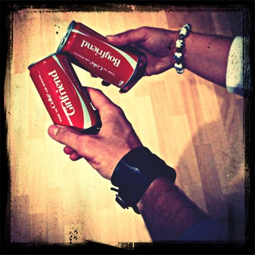 a coke with my <3