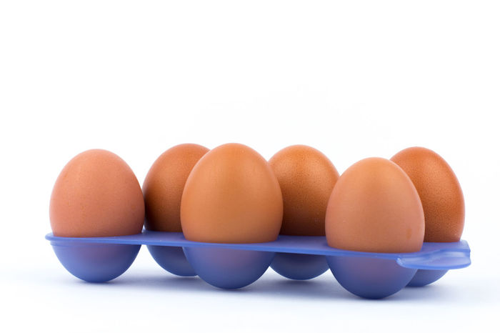 Eggs Brown Egg Brown Eggs Chicken Egg Chicken Eggs Close Up Egg Egg Arts Eggs White Background Eggs On Tray Eggs In Rows