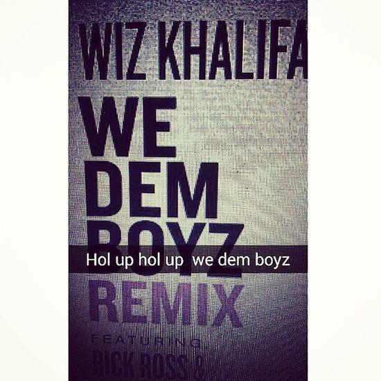 WizKhalifa Wedemboyz Remix Rickross nas SchoolboyQ rickyP RMBjustize sledgern