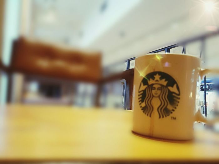 The best place to waiting be a star at starbucks Indoors  Close-up No People Day First Eyeem Photo