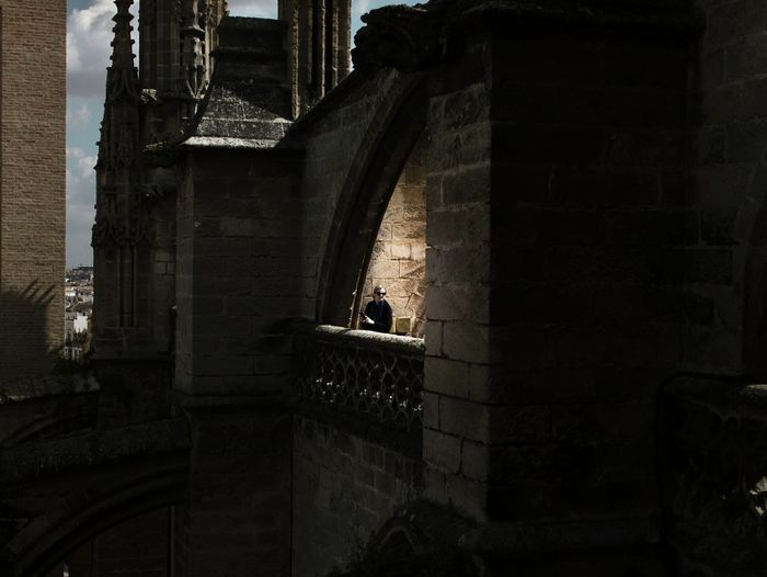 Cathedral Sevilla Seville Shadows & Lights Shadow City Architecture Building Exterior Built Structure Sky Historic Arch History Building Old Ruin Tower Exterior Historic Building Castle Architectural Column