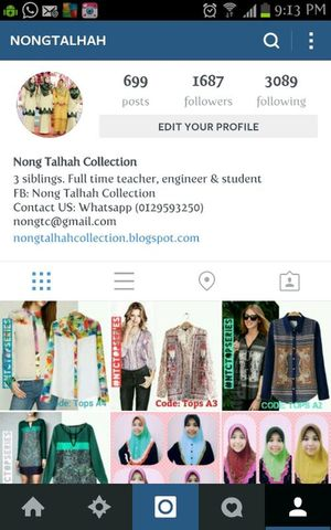 do follow us on instagram ;) Nongtc Clothes