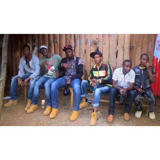 Namba Nane's Finest Proudly Kenyan Enjoying Life Kibera Kenya-Nairobi Boyz in tha hood