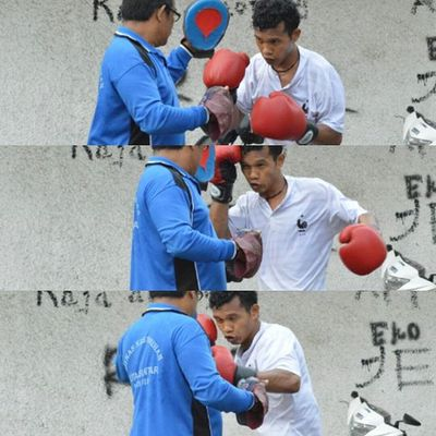 """""""PERTINA kids"""", workout day...Petinju Tinju Boxing Boxer Sport Olahraga Sumaterautara INDONESIA Tourism Selfdefense Punch Training Workout"""