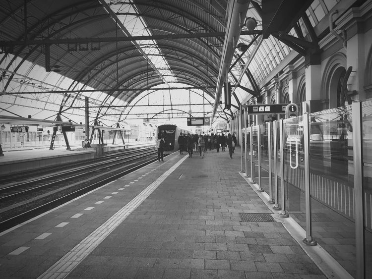 Central station Zwolle The Netherlands Railroad Station Transportation Public Transportation Rail Transportation Travel Travel Destinations Subway Station Transportation Building - Type Of Building Zwolle Station The Netherlands Train Train Station Kampen First Eyeem Photo IPhone 7