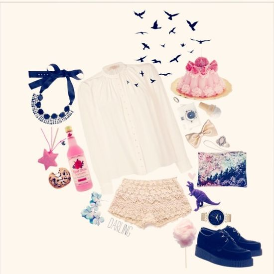 """Polyvore Made In """"Polyvore"""" Handmade"""