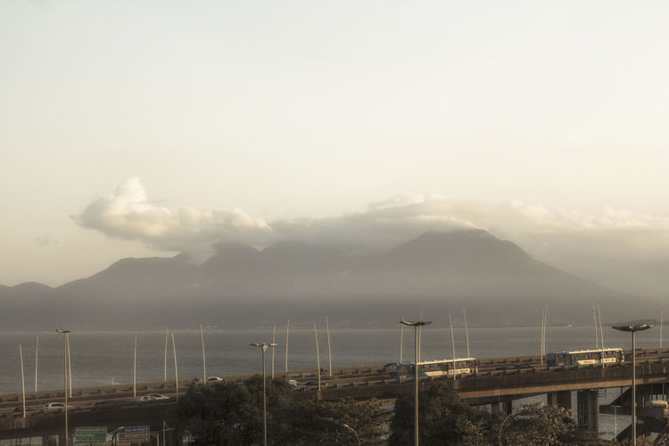 Sky Mountain Cloud - Sky Mountain Range Fog Beauty In Nature Nature Water Scenics - Nature No People Built Structure Architecture Tranquility Environment Outdoors Tranquil Scene Day Non-urban Scene