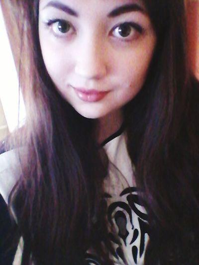 Hey Girl Me Enjoying Life Beauty? Big Eyes Make Up Just Another Self Portrait Eyelashes Chilling Hashtags :*