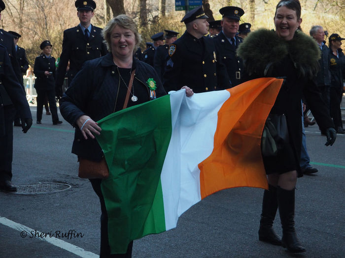 Eringobragh Flag Ireland IrelandForever Ireland🍀 Looking At Camera Parade Stpatricksday