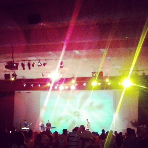 This is arena! gogogo Bestday Aquecimento Conferência2014 AquiÉArena AquiÉF12
