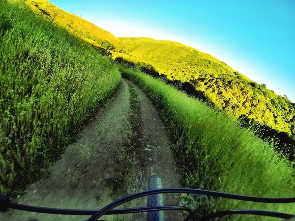 Taking Photos POV Point Of View Tire Tread Motion On Your Bike Bike Bicycle MTB Perspective On The Move Capturing Freedom Celebrate Your Ride Outdoors Trail Tire Path Whatever The Great Outdoors - 2016 EyeEm Awards