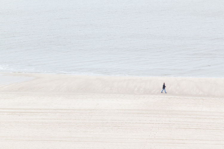 Alone Alone Time Alone... Beach Desolate Desolation Hi Island Loneliness Man Minimalistic Ocean Person Perspective Sunset Sylt Wanderlust Water Wave We