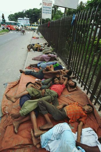 #Bangladesh Street #poorstreet #sad  #poor #sleep Kids Teenager High Street
