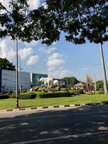 I Love My City Chiang Mai | Thailand Tree Architecture Built Structure Building Exterior Sky City Outdoors Road Day Modern No People Nature Around City City Architecture Land Vehicle Car Transportation Street Road