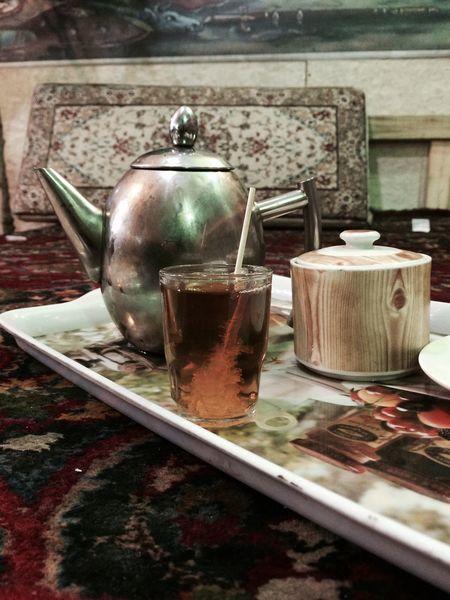 Tea Teapot قهوه خانه سي گل فرحزادcaffe shop 30gol Tehran Tea Cups