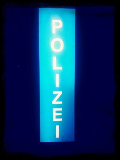 Today Hanover Citylights Police Sign