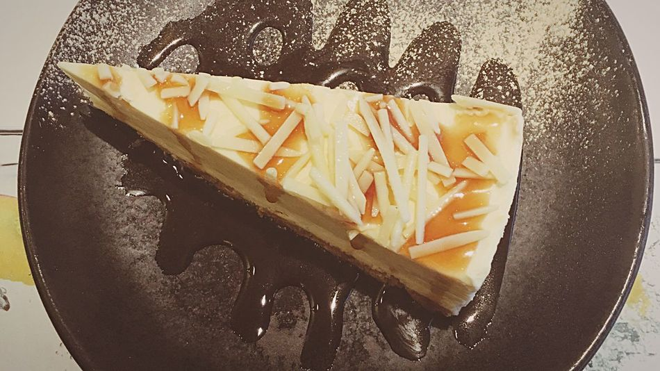 White Chocolate and Ginger Cheesecake at Wagamama Wagamama Cheesecake Time Evening