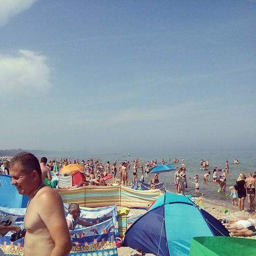 Smażing Plażing Morze Wakacje holidaysummerlike4likeL4lfollow4followF4f ❤???⛵