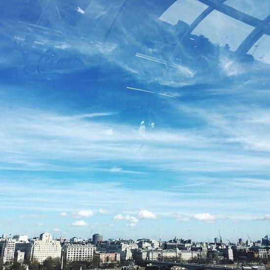 Skyline London Blue Sky Top Perspective