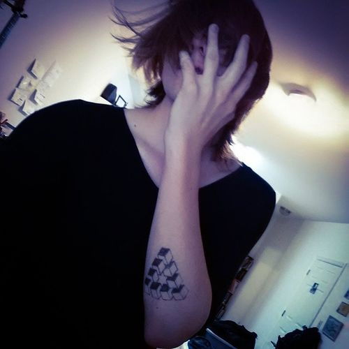 Me Selfie Fullspiral Hairprogress Me Tattooideas Metal Color Coverface Artist