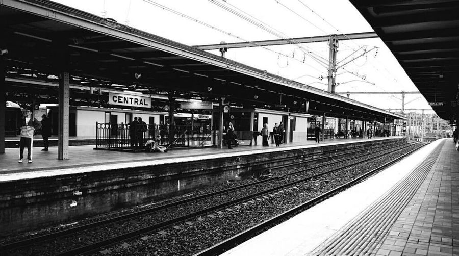 Australia Train Station First Eyeem Photo Black And White Photography