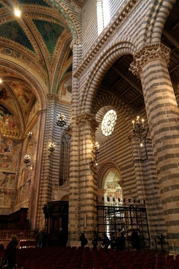 Orvieto, Italy Travel Travel Photography Traveling Adult Adults Only Arch Architecture Built Structure Day History Indoors  Italian Italy Large Group Of People Low Angle View Men Orvieto People Place Of Worship Real People Religion Spirituality Travel Destinations Women