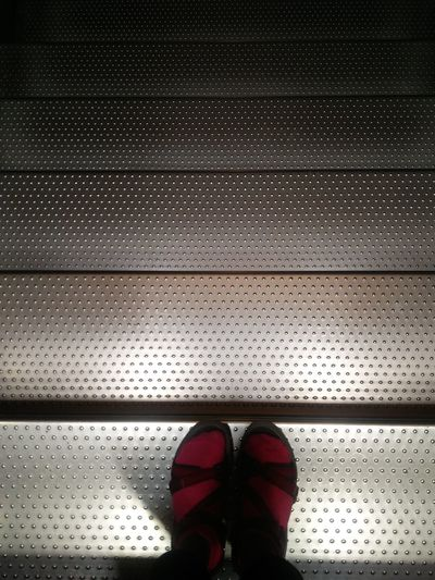 Still, yet escalating. #escalator #Airport #stilllife #feet #pair The Still Life Photographer - 2018 EyeEm Awards Standing Human Leg Shoe Pair Human Foot Pattern Close-up LINE Footwear Architectural Design Slipper  Seamless Pattern The Traveler - 2018 EyeEm Awards Autumn Mood