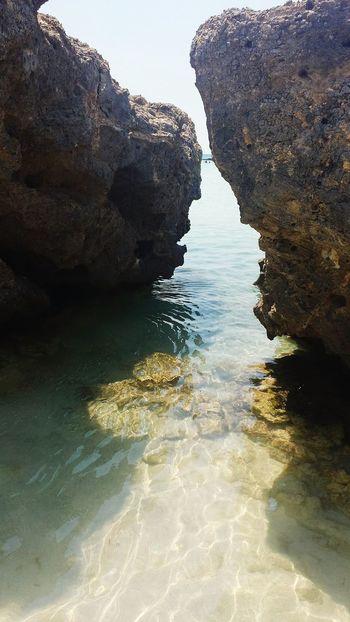 Rocky Beach Elafonisi Greece