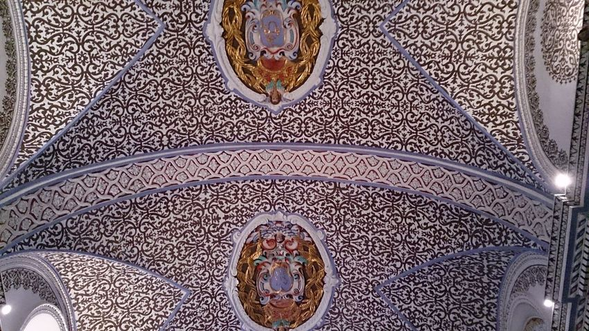 El Techo de la Sacristía del Monasterio De Veruela
