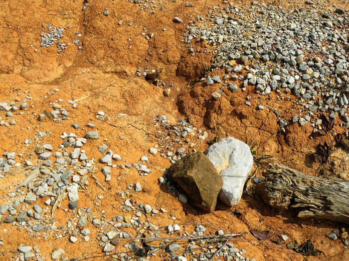 Beach Day Dramatic Dramatic Landscape Dry High Angle View Laos Nature No People Outdoors Rough Terrain Rough Texture Sand Stones