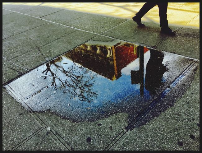 My Favorite Photo Reflections Onthestreet Iphonephotography Puddle Reflections