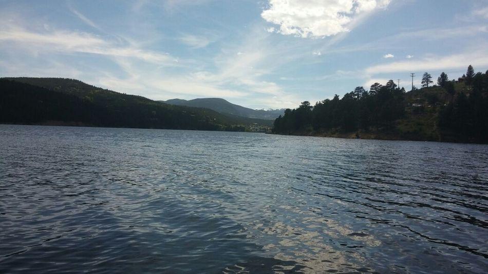 the beautiful lake!!! Nofilter