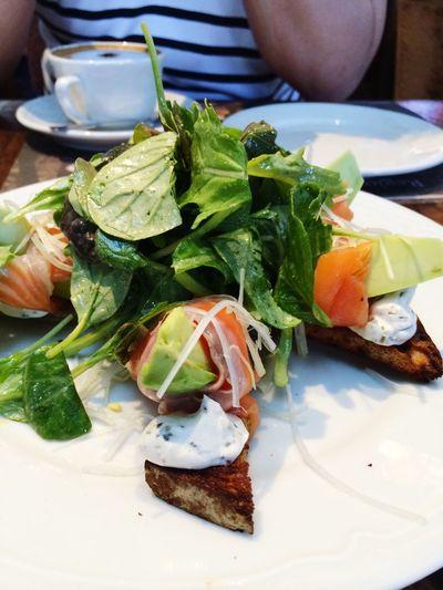 Love this salmon avocado salad