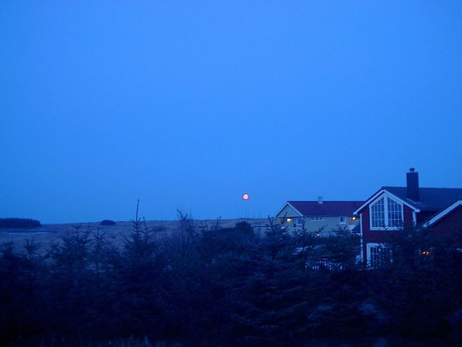 Blue Built Structure Night Outdoors Beauty In Nature Nature Astronomy Star - Space No Trickery No Tricks, No Edits Norway Borhaug Lista <3 Farsund, Norway Blåtime