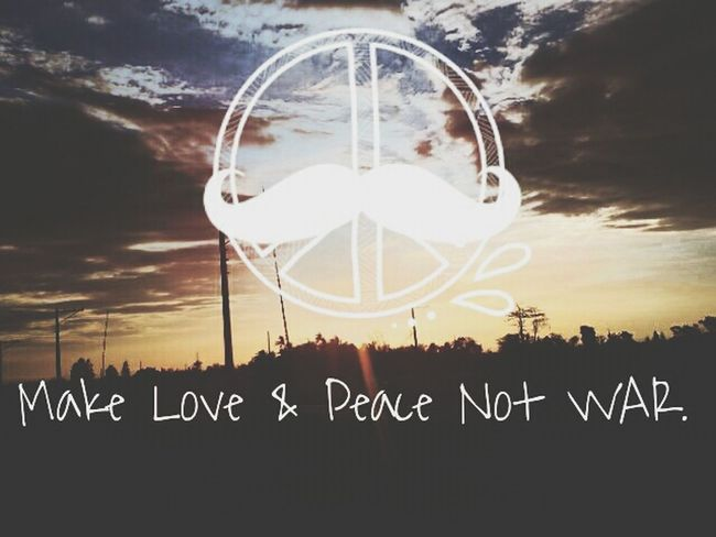 What Does Peace Look Like To You? Make Peace Not War ✌ Stop War God Help Us