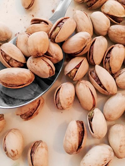 Detail Shot Of Pistachio Nuts