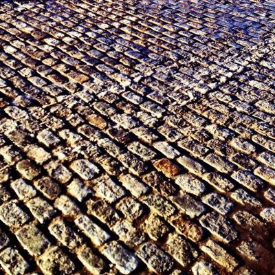 Cobblestone IPhoneography 366dailies Road Street Blocks Pattern, Texture, Shape And Form Old Boston