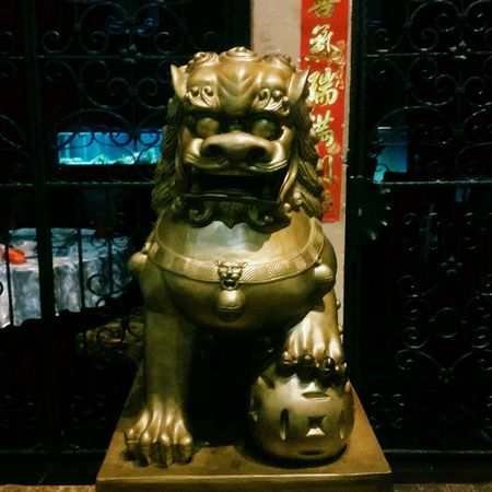 Foo Dog Idol Statue