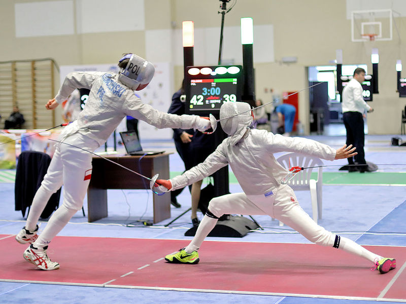 Sport Athlete Strength Full Length Teamwork Competition Real People Two People People Sports Clothing Sports Uniform Only Men Competitive Sport Sports Team Team Sting Hit Adults Only Fencer Saber Fencing Poland Kuwait Fighting Be. Ready. Love Yourself